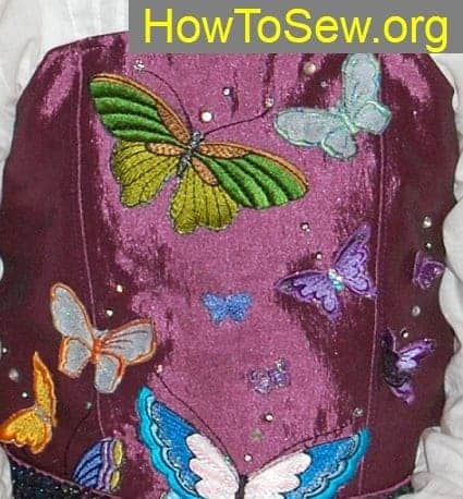 how to sew corset