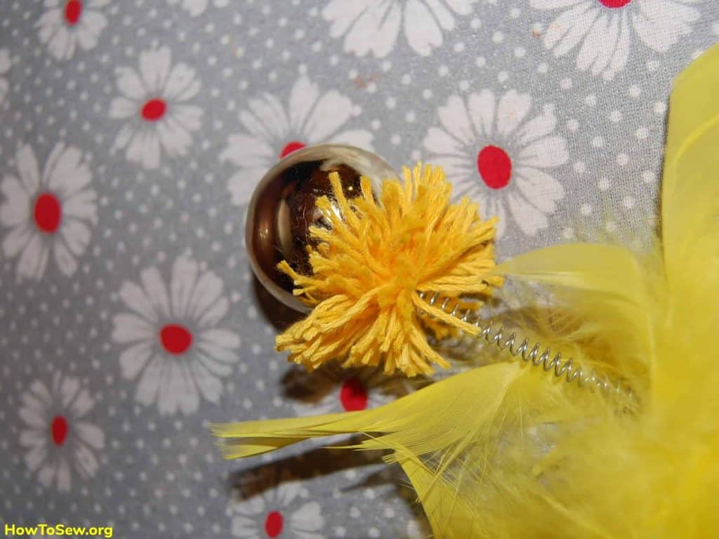 How to make a bubo of thread and horns for a carnival costume